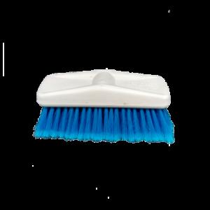 Esfregão Azul Limpeza Cerdas Média