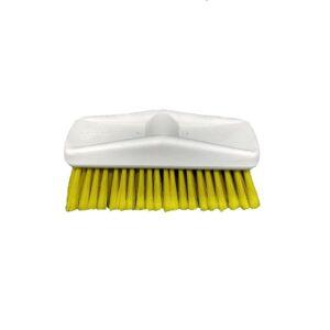 Esfregão Amarelo Limpeza Cerdas Macia